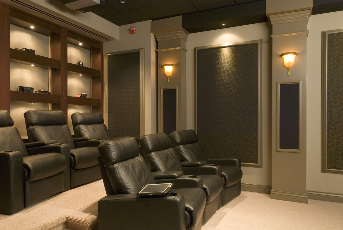 Media Home Theater Window Treatments Blinds Shades Vwf