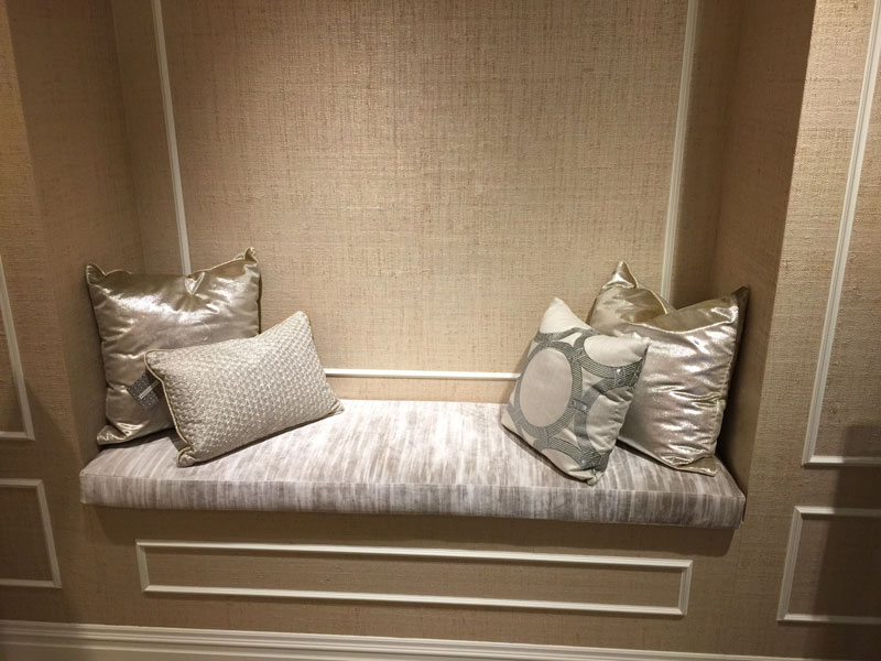 Bench Cushion Pillows Upholstery